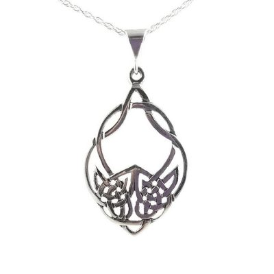 celtic-wolf-sterling-silver-necklace