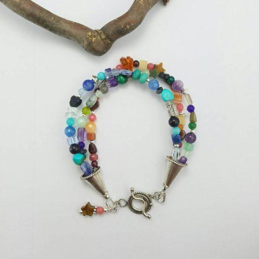 Multi Stone Bracelet~Chakra Bracelet