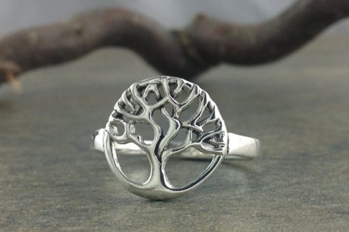 Tree of Life Ring~Sterling Silver Tree Ring